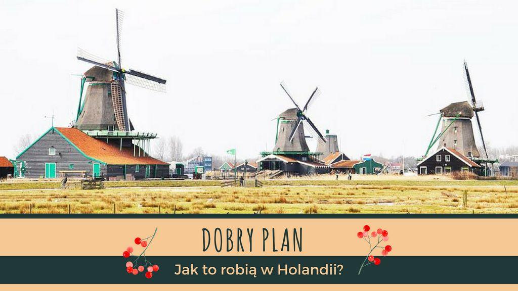 Holenderski dobry plan na krajobraz