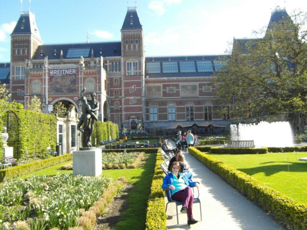 Dobry plan - krajobraz Holandii, Amsterdam