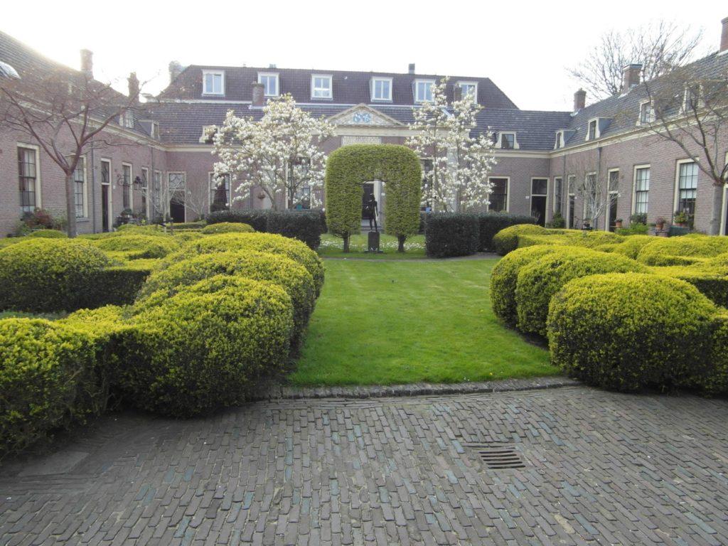 Dobry plan - krajobraz Holandii, miasto